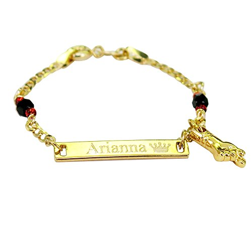 Personalized 18k Gold Plated F