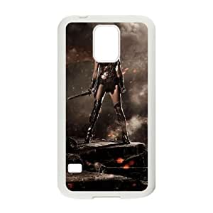 Gal Gadot_020 TPU Cell Phone Case For samsung galaxy s5 White