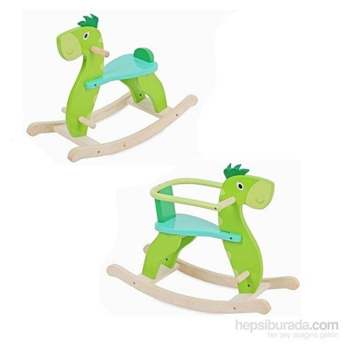 Serra Baby Educational Wooden Swinging Dinosaur Provincial by Serra Baby