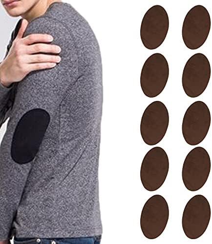 IJzeren patches flanellen doekreparatietools met lage prijs voor sweaterjasBrown
