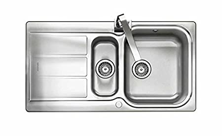 Rangemaster Kitchen Sinks Rangemaster glendale gl9502 950 x 508mm 15 bowl stainless steel rangemaster glendale gl9502 950 x 508mm 15 bowl stainless steel kitchen sink with wastes workwithnaturefo