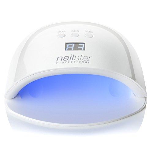 NailStar Professional UV LED Nail Dryer Nail Lamp for Gel Po