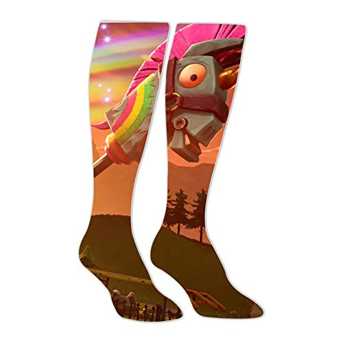 Rainbow Unicorn Pickaxe Long Stocking Original Hose Best Gift Family 20