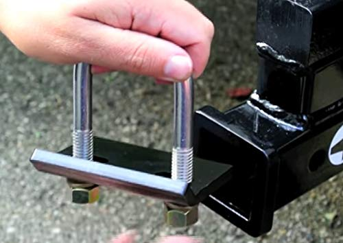 Rust Free 4332984126 Heavy-Duty Lock Down Tow Clamp Orion Motor Tech 2 Anti-Rattle Stabilizer Hitch Tightener for Hitches