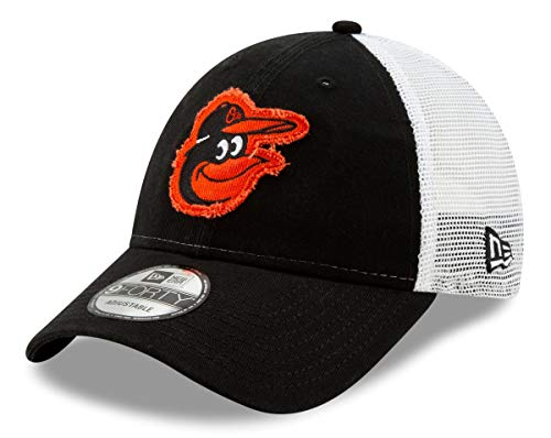 New Era Baltimore Orioles 9Forty MLB Team Truckered Adjustable Meshback ()