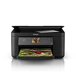 Epson Expression Home XP-5100 Print/Scan/Copy Wi-Fi Printer, Black, Amazon Dash Replenishment Ready