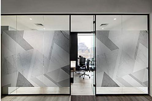すりガラスの窓ステッカー,プライバシー フィルム,ストライプ マット バインダレス 反射 静的 オフィス 住宅-A 57x90cm(22x35inch)