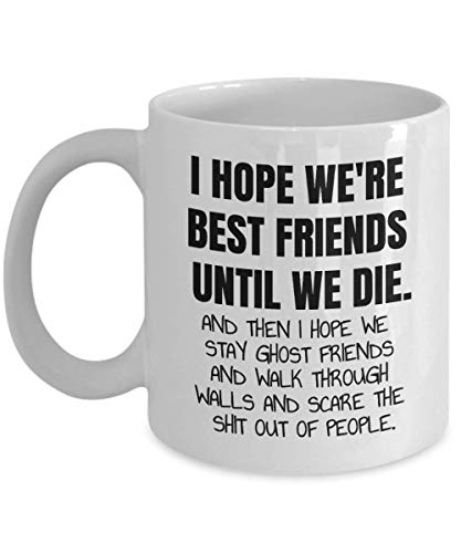 Best Friend Mug Great Gift Item Present Funny Humour Christmas Birthday Female Male Men Women
