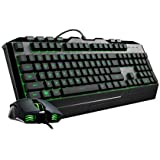 Cooler Master Devastator III Tastiera a Membrana e Mouse, Retro-Illuminazione LED 7 Colori