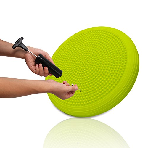 DEVEBOR Balance Board Kids Wiggle Seat ,Balance Disc for Workout, Therapy, Fitness and Training Exercise -