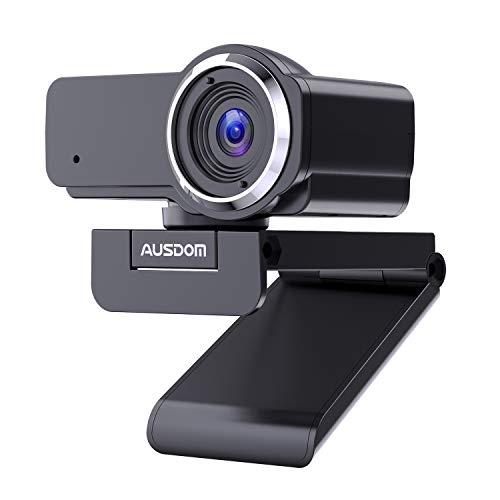🥇 AUSDOM Webcam 1080P Full HD con Micrófono