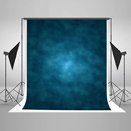 Kate 5x7ft Blue Abstract Photography Backdrop Old Master Blue Background Studio Portrait Backdrops