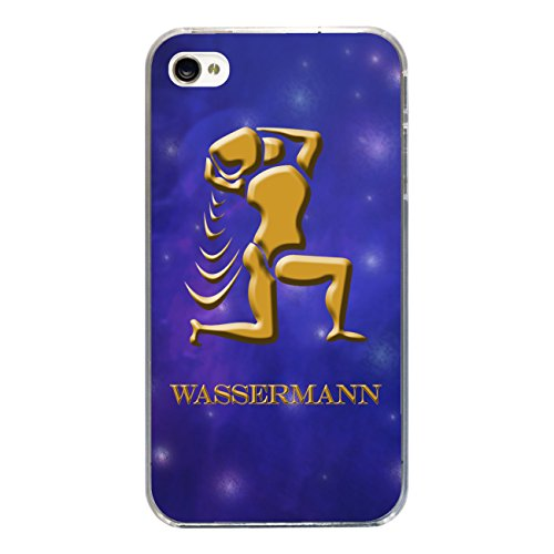 "Disagu Design Case Coque pour Apple iPhone 4s Housse etui coque pochette ""Wassermann"""