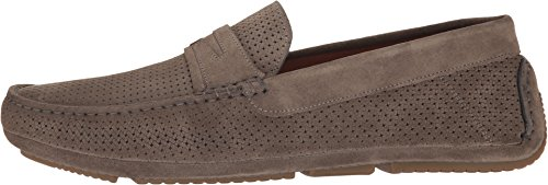 Suede On Embossed Loafer Slip Grey Aquatalia Men's Bruce pwWqHwF0