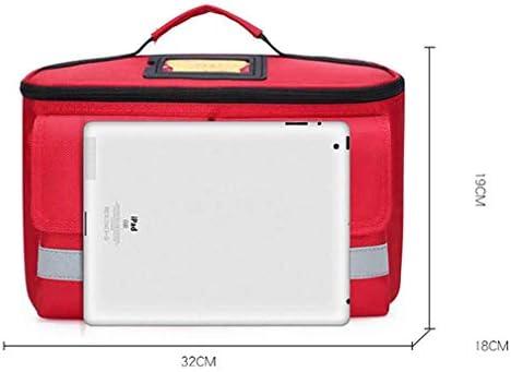 車、職場、家庭、旅行、スポーツ、キャンプ、またはオフィス向けのプレミアム多機能応急処置キット緊急キット, Red