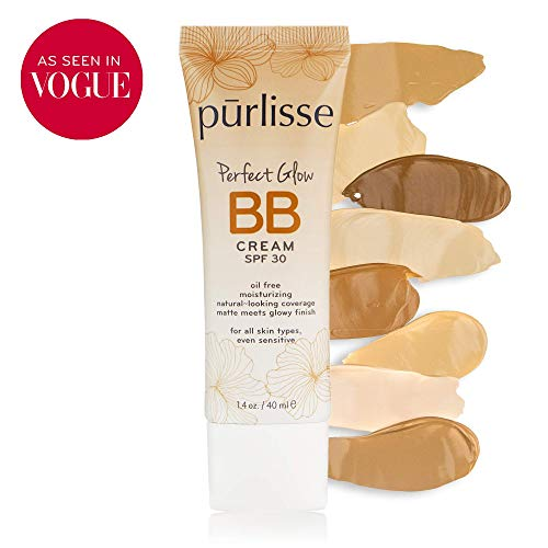 Purlisse Bb Tinted Moist Cream Spf 30, Light, 1.4 Ounce