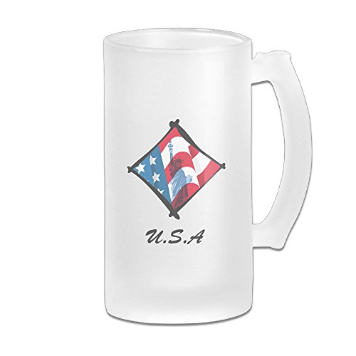 Statue Liberty Clipart (Cool American Flag Statue Of Liberty-clipart For Custom Home Office Scrub Beer Cup Mug)