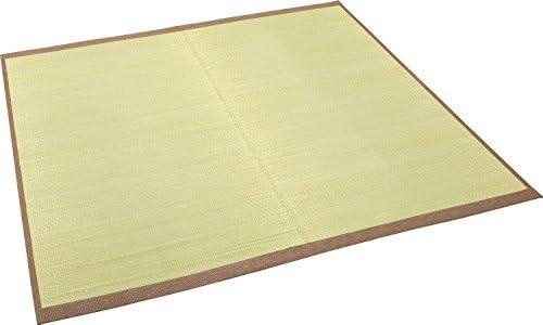 大島屋 い草 ラグ イ草 ラグ 与那国 約1.8帖 フローリング対応  い草 グリーン 約140×200cm