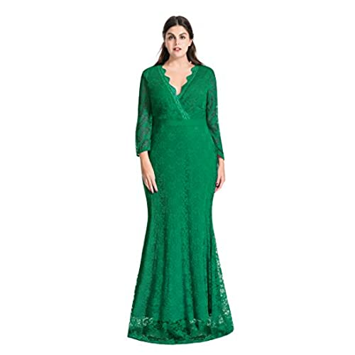 Green Plus Size Formal Gowns And Evening Dresses Amazon