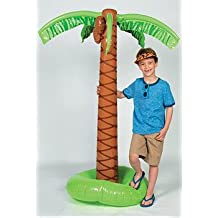 160cm large indoor and outdoor, Hawaii artificial coconut tree, inflatable, fake green plants, hotel living room decorations MAPLE