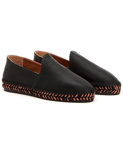 Aquatalia Haddie Waterproof Leather Espadrille, 5
