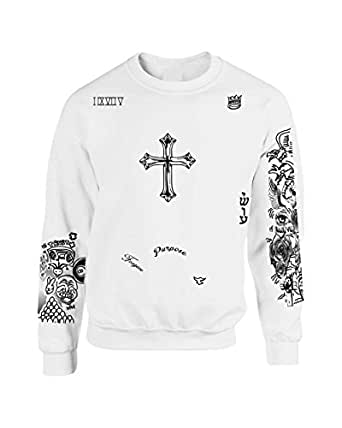Allntrends Justin Bieber Shirt Sweatshirt Justin Bieber Tattoo at