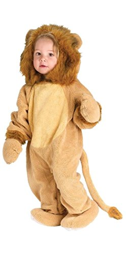Fuzzy the cuddly lion costume Infant size S 6 - 12 M (Cuddly Lion Baby Costume)
