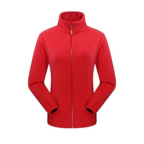 Y Piezas Tres Cálido Abrigo Para Dos Rojo En Aire Bhydry Transpirable Al Equipo Libre Uno Impermeable Mujeres wI806qO