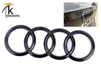 k-electronic Audi A4 B9 8 W Avant Allroad Emblema Negro Mate/Audi Anillos Trasera Trasera para Maletero: Amazon.es: Coche y moto