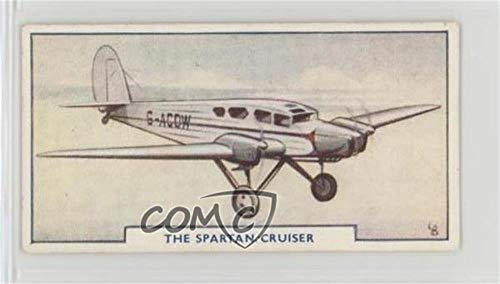 - The Spartan Cruiser (Trading Card) 1925 Godfrey Phillips Aircraft - Tobacco [Base] - Matte Finish Back #40