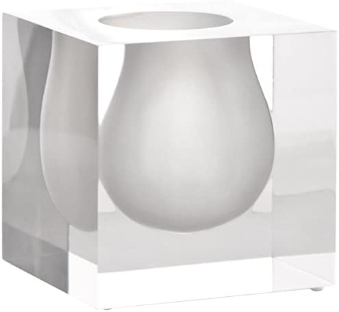 Jonathan Adler Bel Air Mini Scoop Vase, White