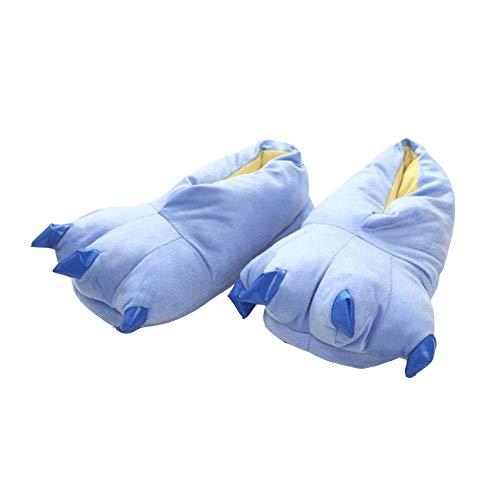 Dessin Peluche pour Enfants pour Hiver Clair la Per Vivre la Maison Pantoufles animé Bleu Pantoufles par Enfants Maison xqCfPPwp