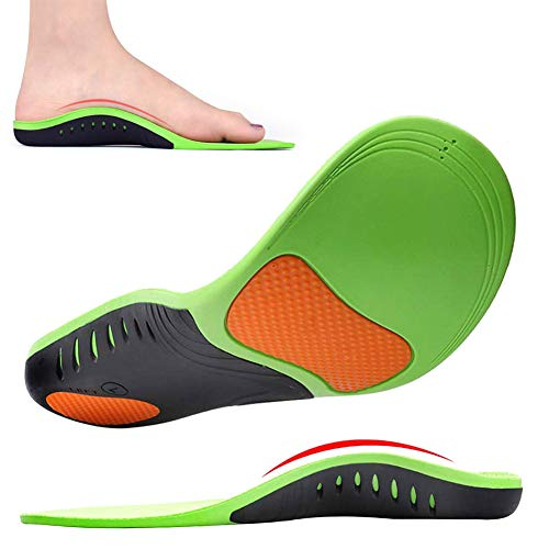 Insoles for Plantar Fasciitis - Arch Support Insoles for Men Women Doctor Recommends Professional Orthotic Insoles for High Arch, Flat Feet, Foot Pain, Feet Heel Pain Relief