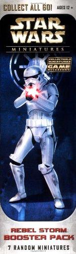 Star Wars Rebel Storm Booster Pack (7 Random Miniatures) ()