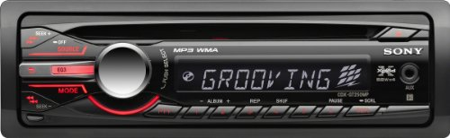 Sony CDXGT250MP Receiver Discontinued Manufacturer