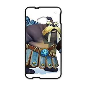HTC One M7 Cell Phone Case Black Donkey Kong Country Tropical Freeze VIU170708