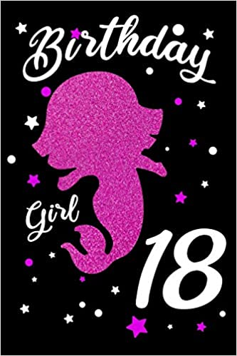 Astonishing Birthday Girl 18 Blank Lined Journal Pink Happy Birthday Funny Birthday Cards Online Fluifree Goldxyz