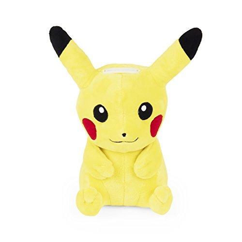 Pokemon Bank - Pokemon Pikachu Yellow Plush Coin Money Bank