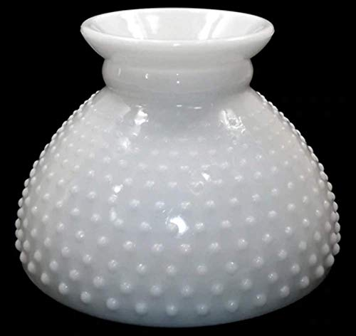 Vintage Fenton Hobnail Milk Glass Light Lamp Shade Replacement - Fenton Globe