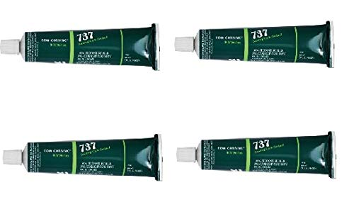 Dow Corning 737 Neutral Cure RTV Sealant, Clear, 3 oz  Tube - Buy