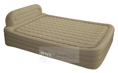 Amazon.com: Marco de intex deluxe Queen Size cama Aire ...