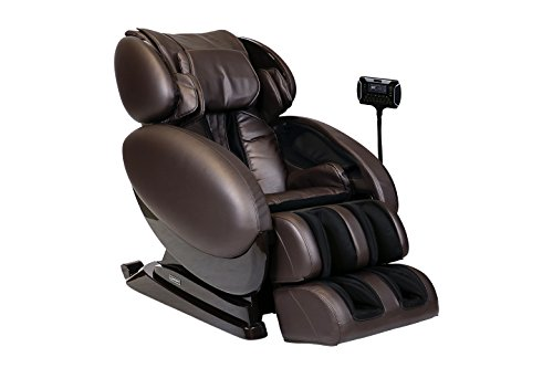Infinity IT-8500 - Full Body Zero Gravity 3D Massage Chair - Featuring Air Compression, Decompression Stretch, Lumbar Heat, and Shiatsu Technique- Brown