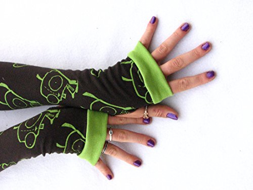 Invader Zim Cosplay Costumes (Invader Zim Arm Warmers Fingerless Gloves)