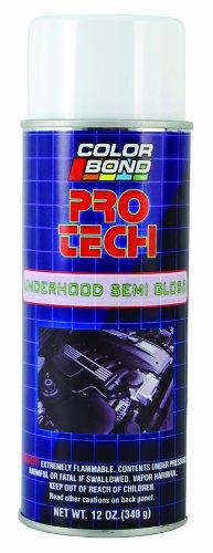 ColorBond (1432) Pro Tech Underhood Semi Gloss Black Engine Bay Paint  - 12 oz.