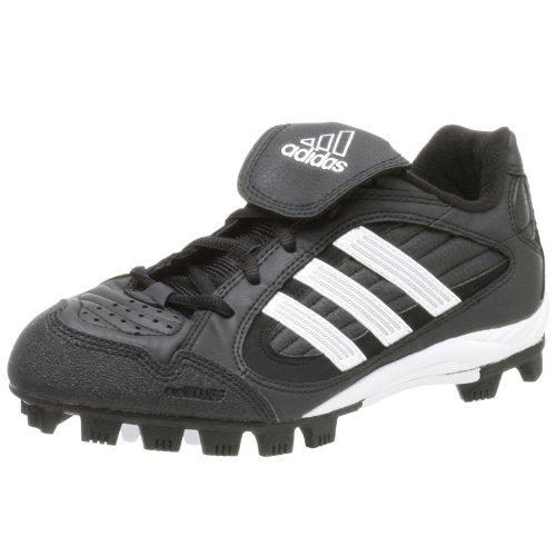 adidas Women's Triple Star 5 Low Softball Cleat,Black/Runwht/Metsil,11 M by adidas
