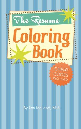 Amazon.com: The Resume Coloring Book eBook: Lea McLeod: Kindle Store