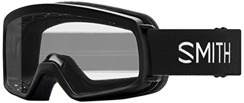 Smith Optics Youth Rascal Snow Goggles,Black Frame/Clear