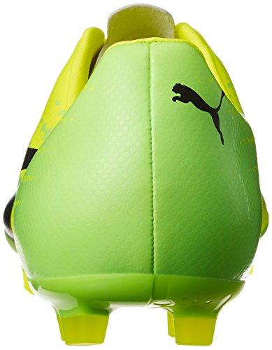 Puma Evospeed 17.2 AG, Scarpe da Calcio Uomo Giallo (Safety Yellow-puma Black-green Gecko 01)
