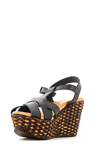 Keys 5156 Wedge Sandals Women Black jj45c8T