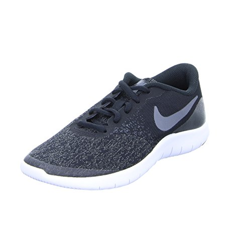 3876423e7e Galleon - NIKE Kids Flex Contact (GS) Running Shoes (4 Big Kid M, Black Drk  Gry Anthracite White)